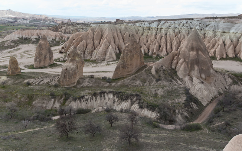 cappadocië, red valley
