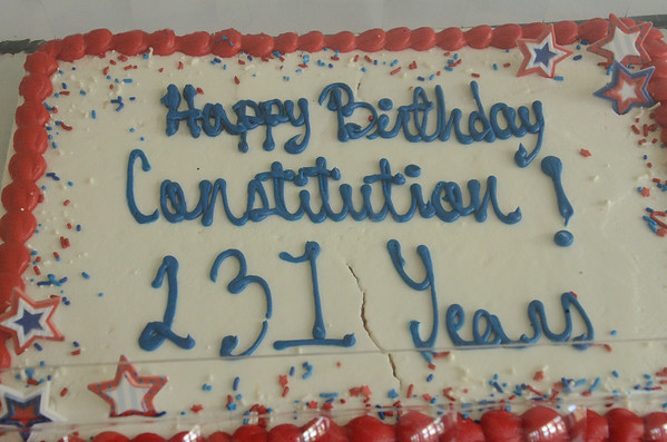 Constitution Day Celebration 2018