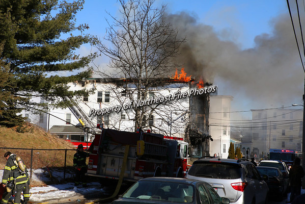 Woonsocket- 3rd Alarm- Lincoln Street- 1/10/13