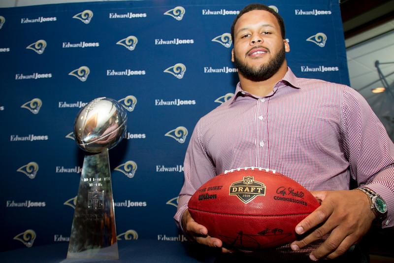Rams Edward Jones 2015 Draft Event
