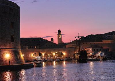 Sunset Cruise, Dubrovnik, Croatia