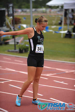 Class 3A - Running Event Finals - Girls 4X800m Relay Finals - Section 2
