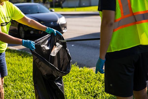 091821 Keep Coral Springs Beautiful Clean Up