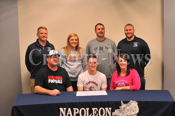 02-01-17 Sports Lane Good (Napoleon) LOI to Concordia for FB