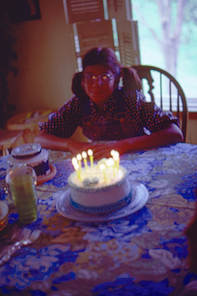 1980-08-30 - Sharon's 12th Birthday