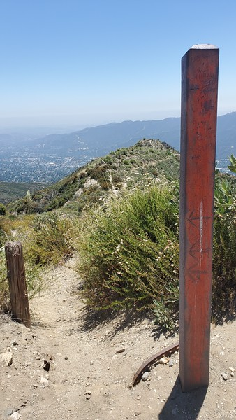 Rim of the Valley Trail Junction