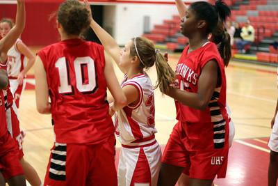 Girls Junior Varsity Basketball - 2006-2007 - 11/07/2006 Grand Rapids Union