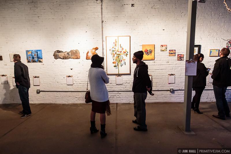 Artwork on display on the grounds surrounding The Goat Farm Art Center in Atlanta, Georgia on Saturday, Oct. 4, 2014