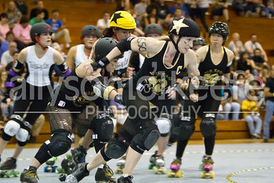 Big Easy Rollergirls vs. MRD