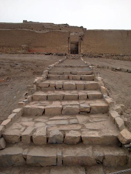 Inca staircase.