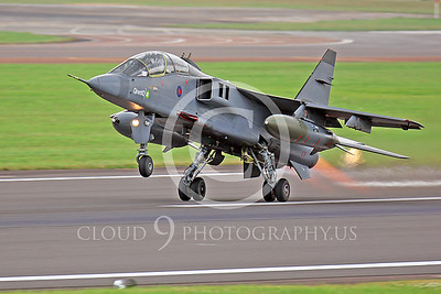 British RAF SEPCAT Jaguar Military Airplane Pictures