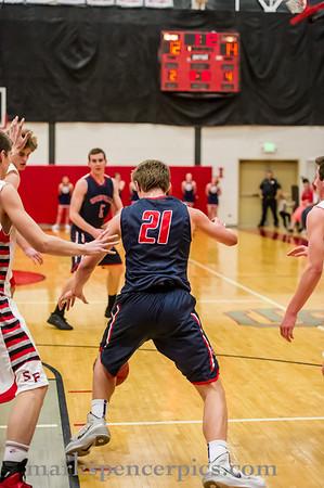 Basketball SHS vs SFHS 2-25-2014