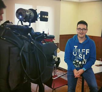 Entrevista Televisión Castilla la Mancha. Fotógrafo del año