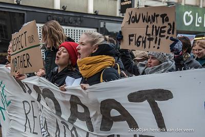 Demonstraties-Klimaat-Landelijke aktie 29 nov 2019