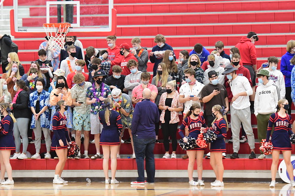 Student Crowd at Basketball
