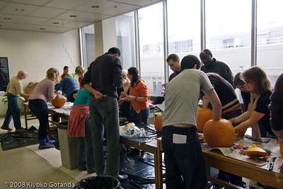 2008 BGSA Pumpkin carving