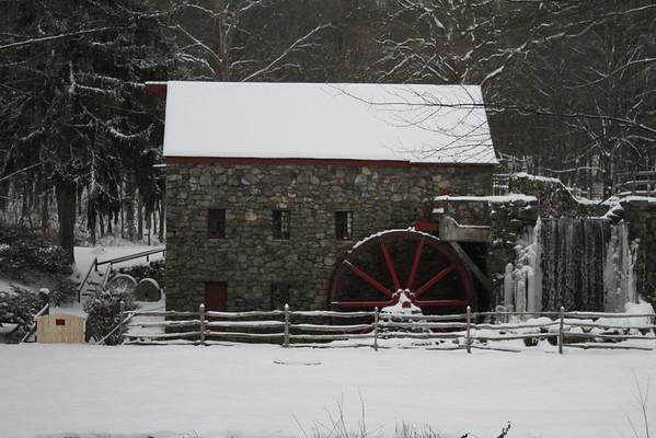 Sudbury Grist Mill 2016 - Winter