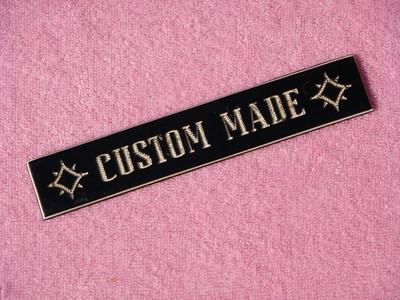 Custom Made Plaque