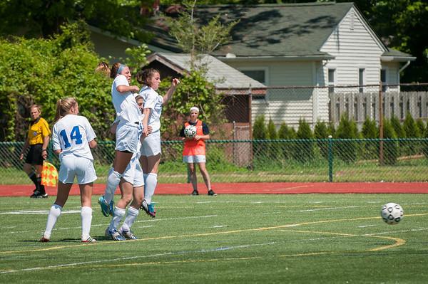 Spring2014- IKE Girls Varsity Soccer-Playoffs