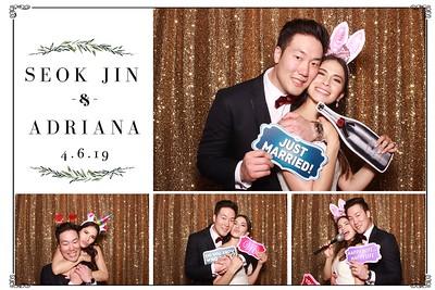 Seok Jin and Adriana's Wedding