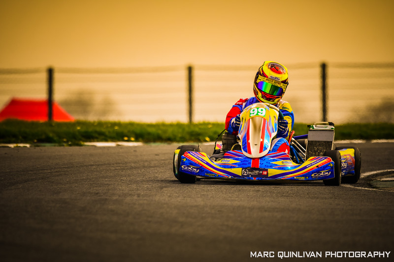 Motorsport Ireland Karting Championship 2019 - Round 1 - Mondello Park - Alyx Coby