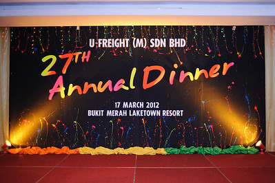 20120318 27th Ufreight Annual Dinner