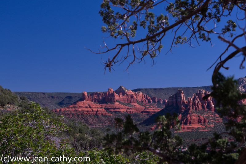 Sedona, Arizona - Sedona is a very picturesque little city. The colors in the surounding landscape is really quite remarkable. We took a sunset Jeep tour to get a different perspective.