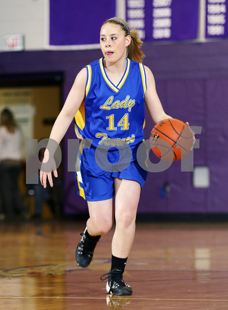 2014 Otto-Eldred Girls Basketball @ Coudersport