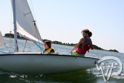 Jr. Sailing — morning — 7 . 10 - 2008