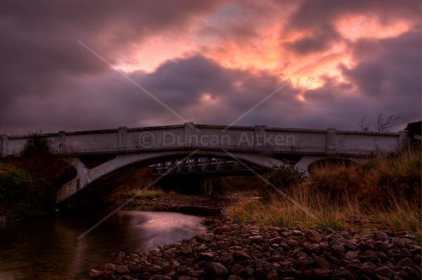 2010.04 - Wairarapa (ANZAC bridge, Pahiatua, Poketoi range)