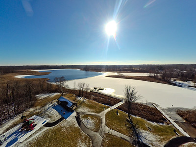Buell Lake County Park Aerial Photography