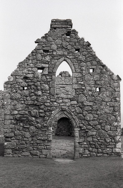 Chapel, Dunottar Castle