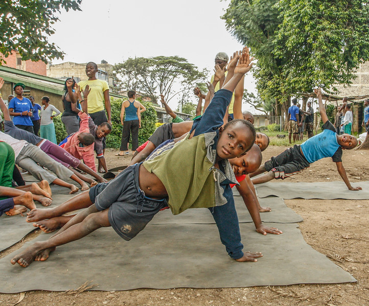 Side Plank ~ A Children's Home in Nairobi, Kenya