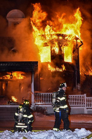 4 Alarm Structure Fire - Highland St, Townsend, Ma -  12/21/20
