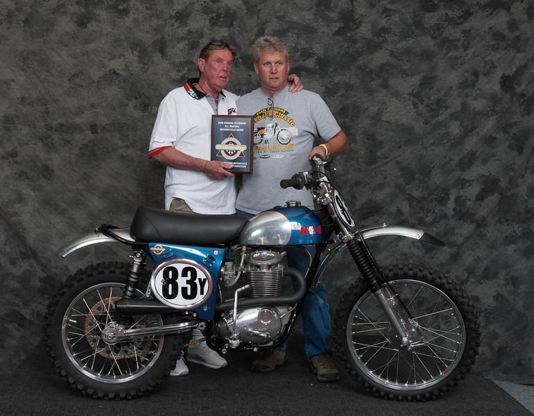 Pat Brown, Winner AHRMA Competition MX - 1969 BSA 441 Victor