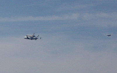 2012-09-21 Space Shuttle Endeavour Flyover