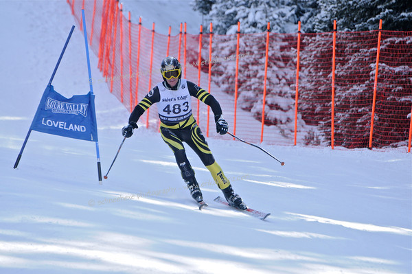 12-9-12 Masters GS at Loveland - Run #2