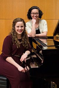 Melodie Bloyer and Andrea Husler Piano Recital 2018