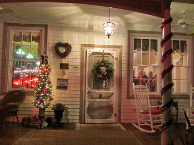Bybee House and  Jacksonville Xmas lights