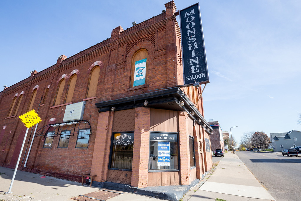 . At the Moonshine Saloon, 1179 E. Seventh St.,  jukeboxes and water faucets occasionally turned themselves on. (Pioneer Press: Andy Rathbun)