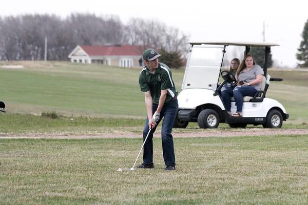 TC golf at Unity Christian 4-15-19