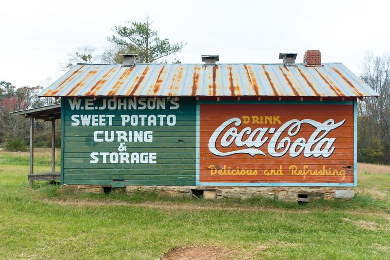GA, Roopville - Coca-Cola Wall Sign 06