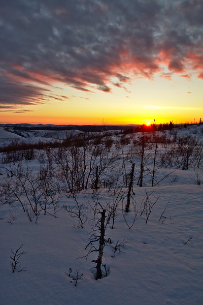 Sunset from the Trail