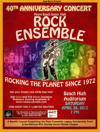 April 28th, 2012 40th Anniversary Concert