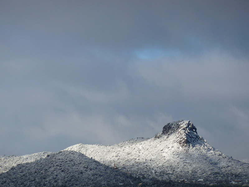 Snowy Thumb Butte