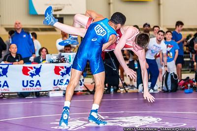 46 - McHenry def Reno - Freestyle Finals - 2017 UWW Cadet