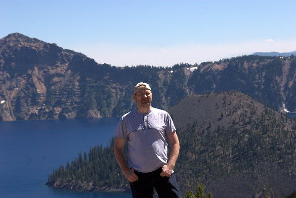 Family - trip to the Crater Lake