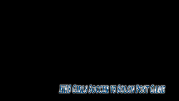 HHS Girls Soccer Videos