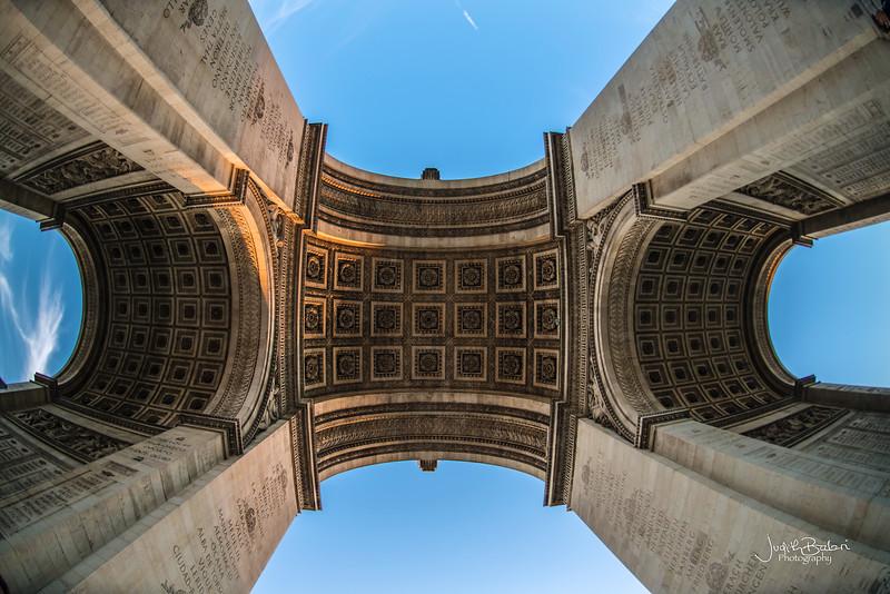 Arc du Triomphe , Paris, France