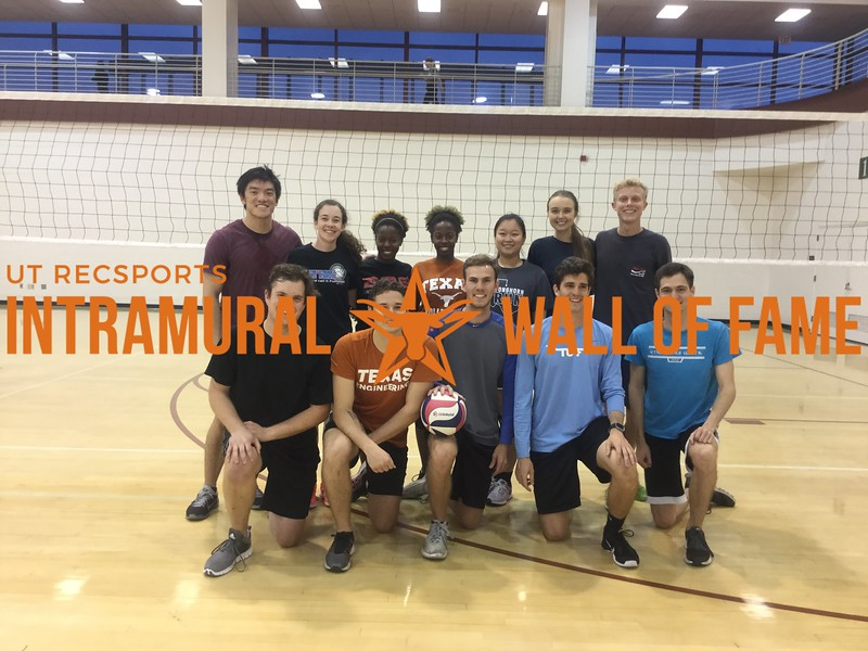 Spring 2018 Volleyball Coed B Champion Kiss My Ace